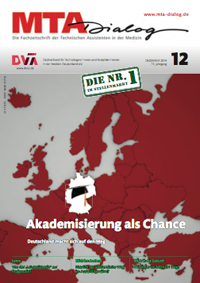 DVTA-Themenheft: MTA - Akademisierung als Chance