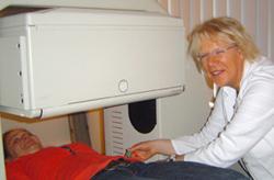 Anke Ohmstede, Vorsitzende des DVTA und Leiterin der MTA-Schule am Klinikum Oldenburg