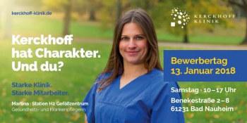 Kerckhoff Klinik - Bewerbertag 2018